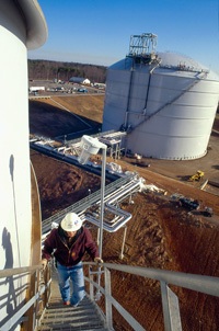 Natural Gas Storage Tank