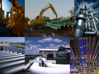 Collage of Various INGAA natural gas pictures