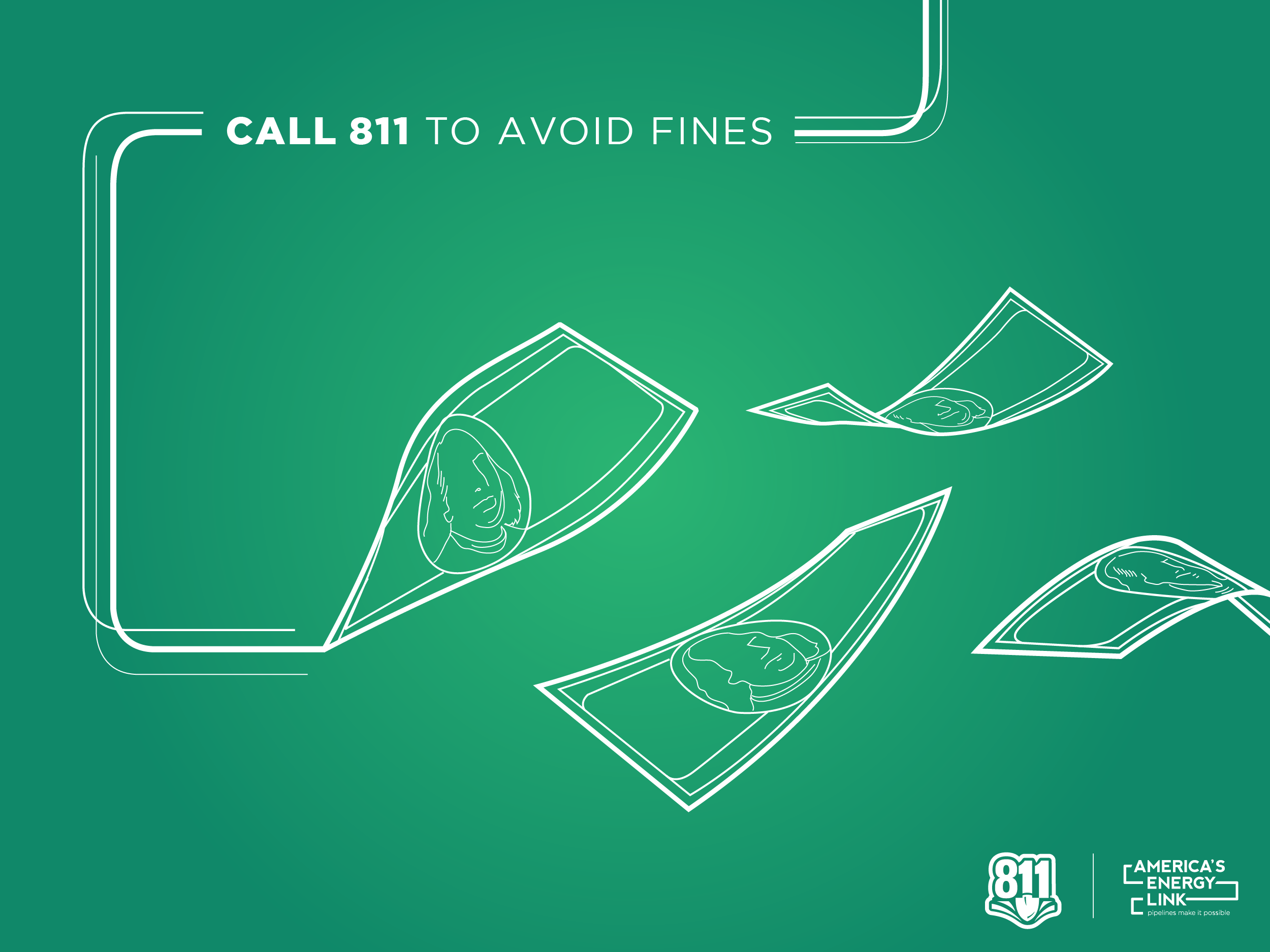 Avoid Fines 811 Social Graphic