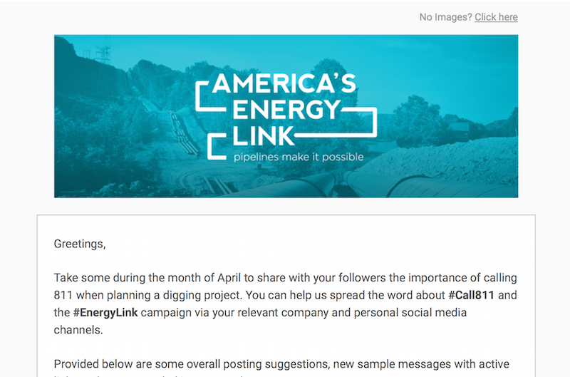 America's Energy Link April '16 Social Media Toolkit