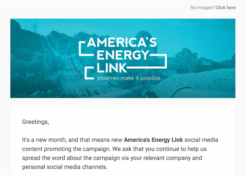 America's Energy Link March '16 Social Media Toolkit