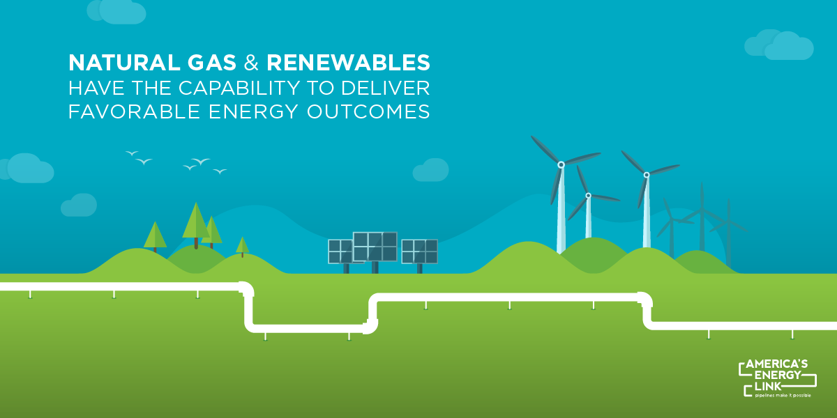 Natural Gas and Renewables Graphic