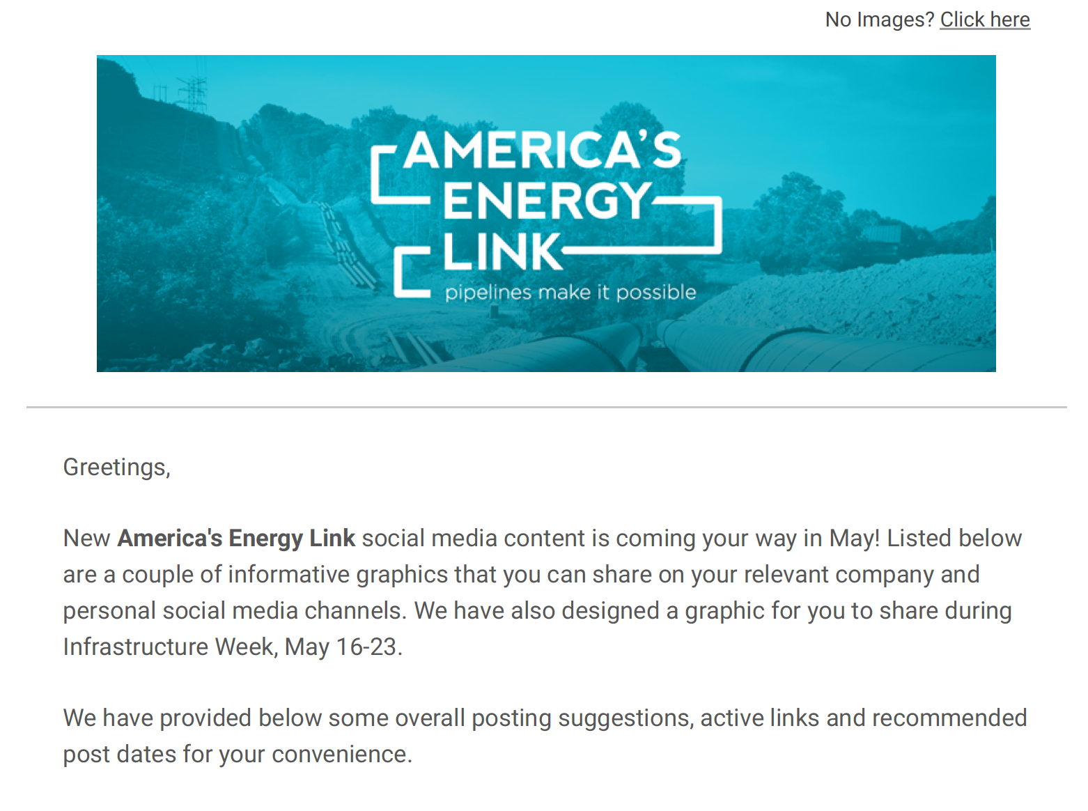 America's Energy Link May '16 Social Media Toolkit